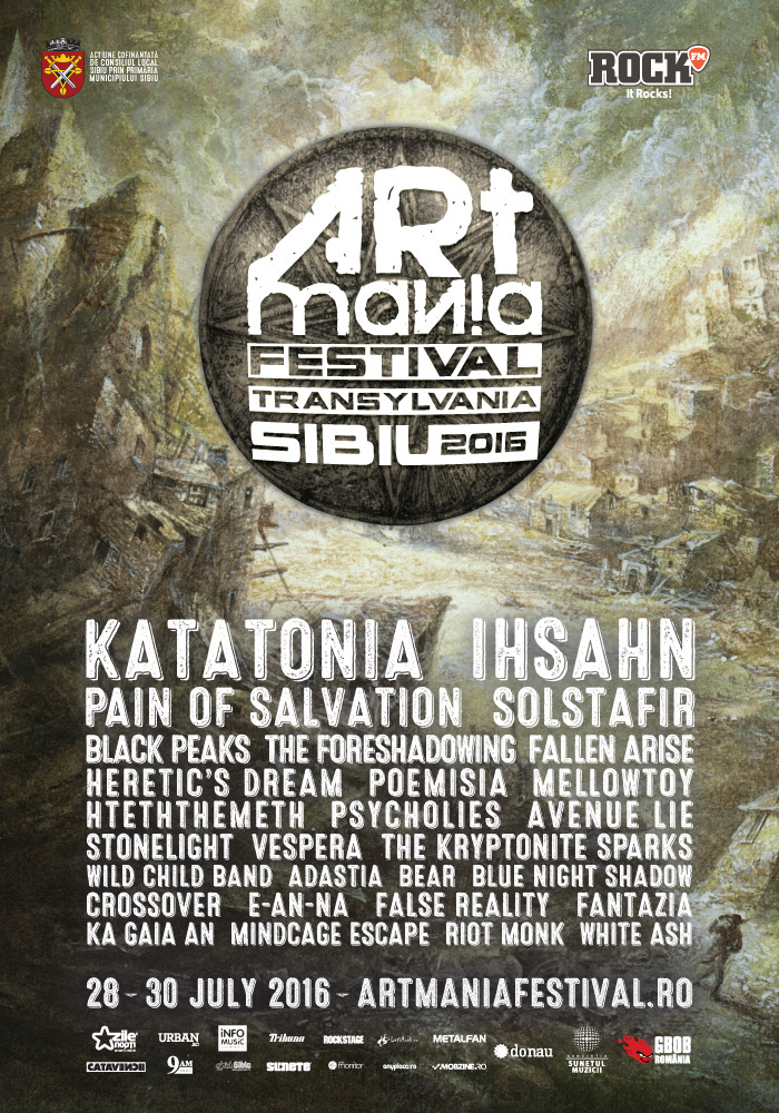 Official ARTmania Festival Sibiu 2016 Artwork